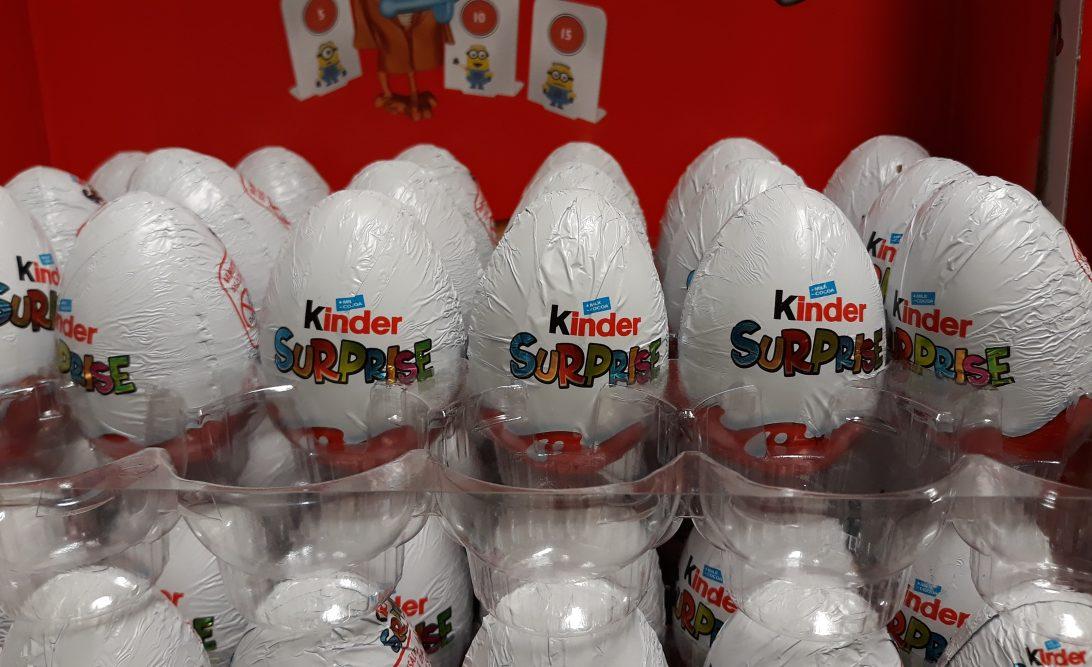 Kinder-muna tuotedifferointi
