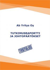 Tutkimusraportti Tositulos-asiakastyytyväisyystutkimus, Oulu