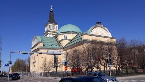 Oulu Cathedral church - Walking tour - City centre - Sightseeing - Visit Oulu - Finland