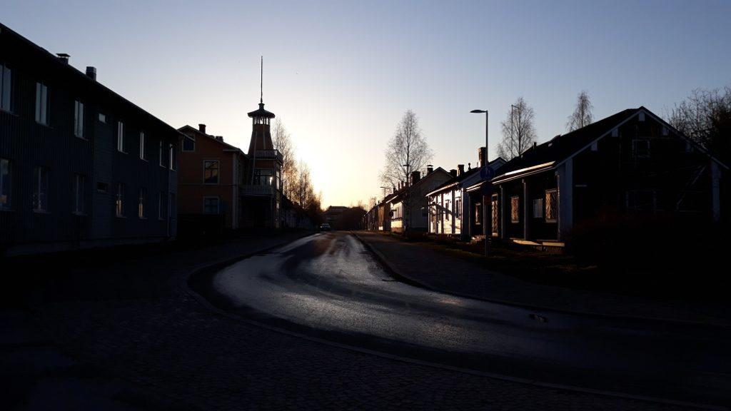 Pikisaarentie Pikisaari Oulu - blogi