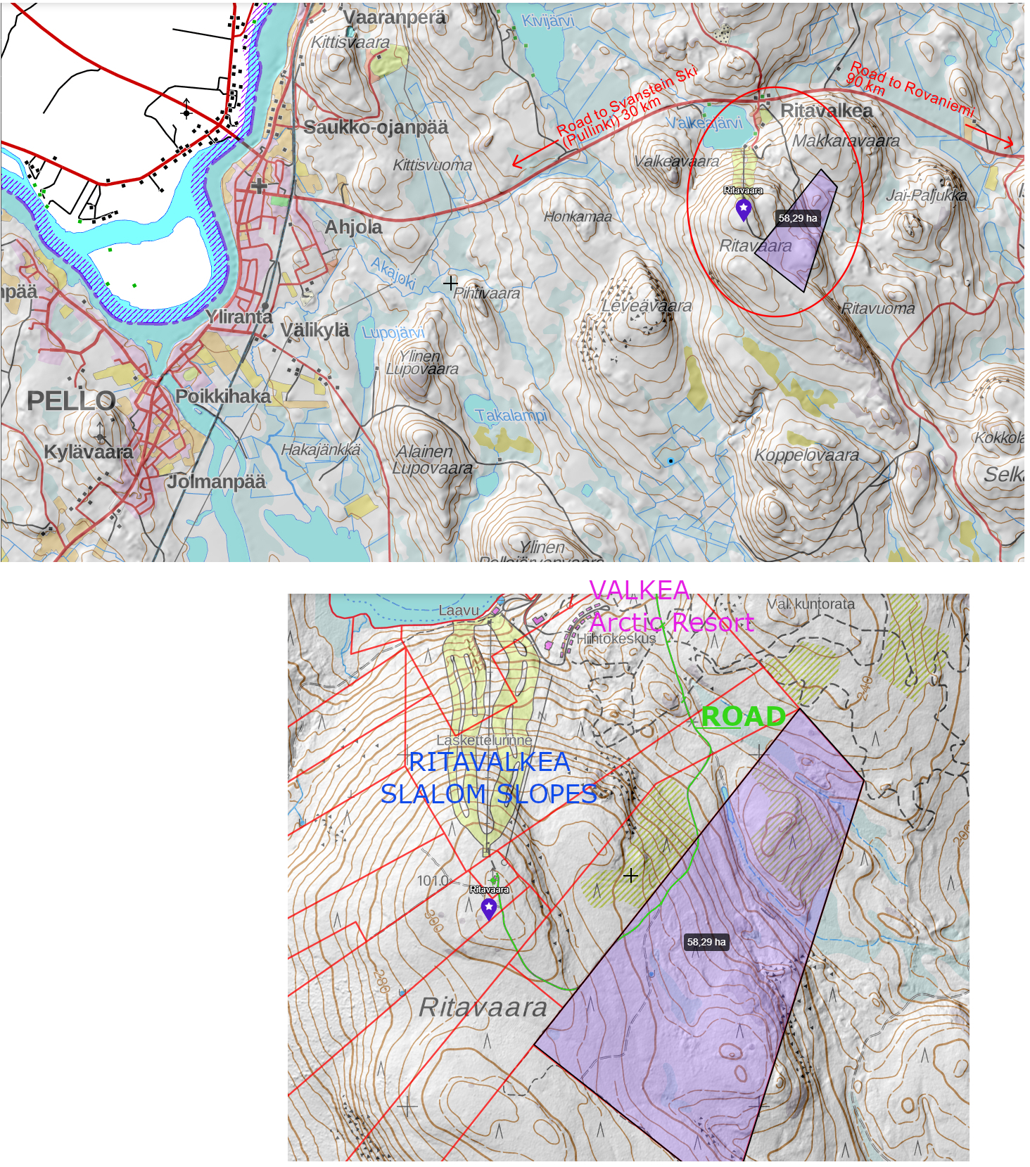 Lapland For Sale Land Lot Plot At Resort Area Near Rovaniemi